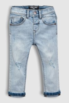 Next Distressed Jeans With Stretch (3mths-6yrs)