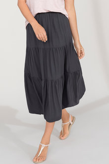 Capture Tiered Maxi Skirt - 213119