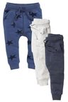 Next Star All Over Print Joggers Three Pack (3mths-6yrs)