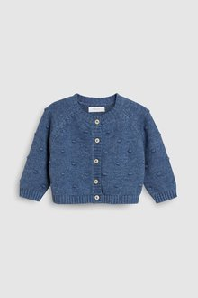 Next Blue Bobble Cardigan (3mths-6yrs)