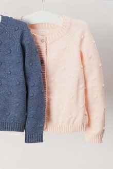 Next Pink Bobble Cardigan (3mths-6yrs)