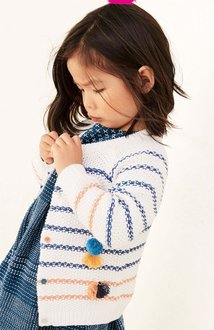Next Stripe Tassel Cardigan (3mths-6yrs)