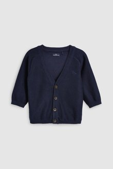 Next Navy Cardigan (3mths-6yrs)