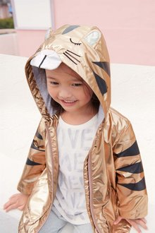 Next Metallic Tiger Jacket (3mths-6yrs)