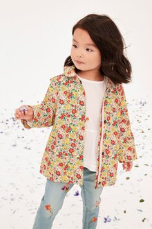 Next Floral Printed Mac (3mths-6yrs)