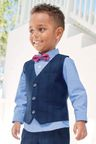 Next Check Waistcoat Three Piece Set (3mths-6yrs)