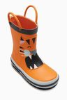 Next Orange Tiger Wellies (Younger)