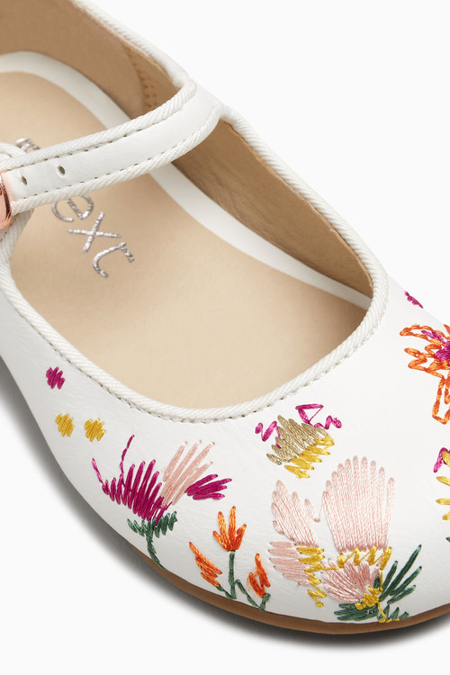 Next Embroidered Mary Jane Shoes (Younger)