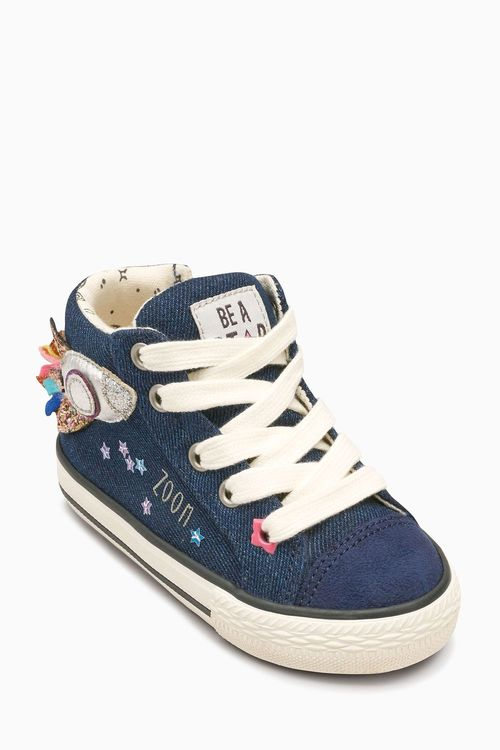 Next Rocket High Top Trainers (Younger)
