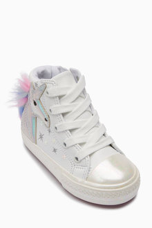 Next Unicorn High Top Trainers (Younger)