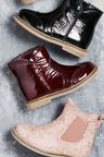 Next Patent Brogue Ankle Boots (Younger)