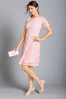 Capture Fit & Flare Lace Dress