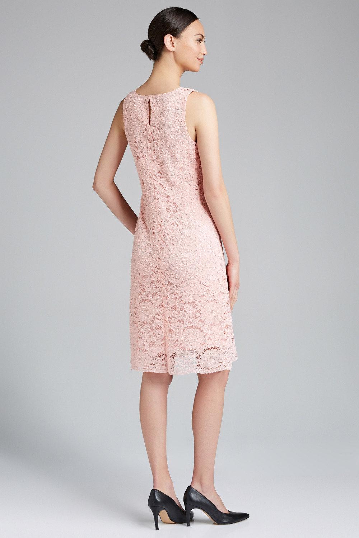 e3580872900 Capture Sleeveless V Neck Lace Shift Dress Online