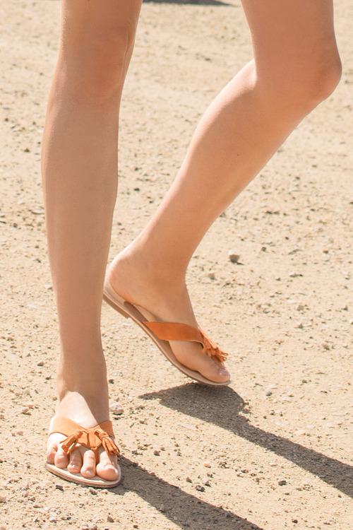 Tilbury Sandal Flat