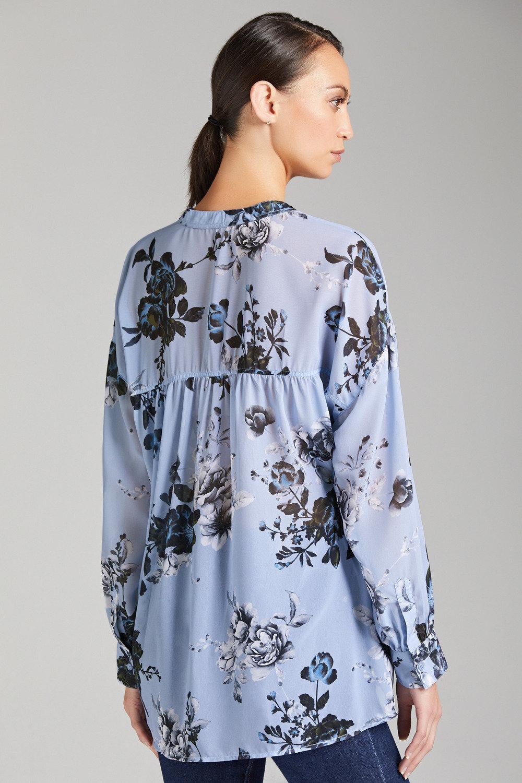 961314c97decae Grace Hill Chiffon Print Shirt Online