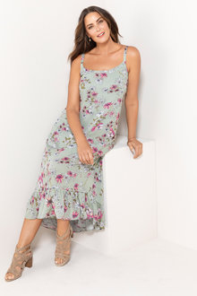 Sara Hi-Low Maxi Dress - 213304