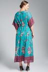 Plus Size - Sara Kimono Sleeve Maxi