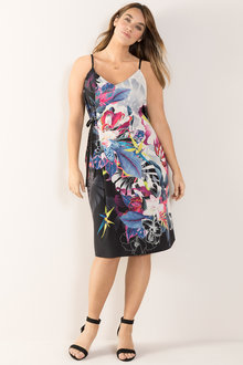 1aff287d0 Plus Size - Sara Tie Front Dress