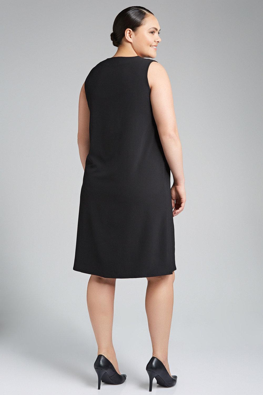 368c53443a Plus Size - Sara V Neck Shift Dress