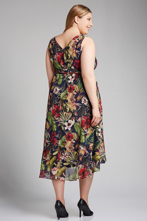 Plus Size - Sara Flowy Dress