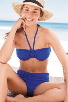 Next Cobalt Soft Bandeau Bikini Top - 213353