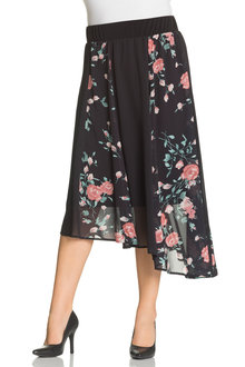 Plus Size - Sara Panel Skirt