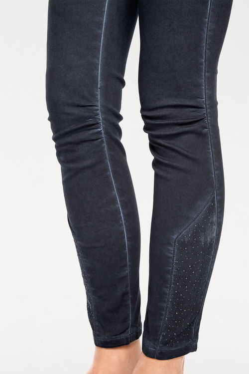 Heine Hem Detail Pull On Pants
