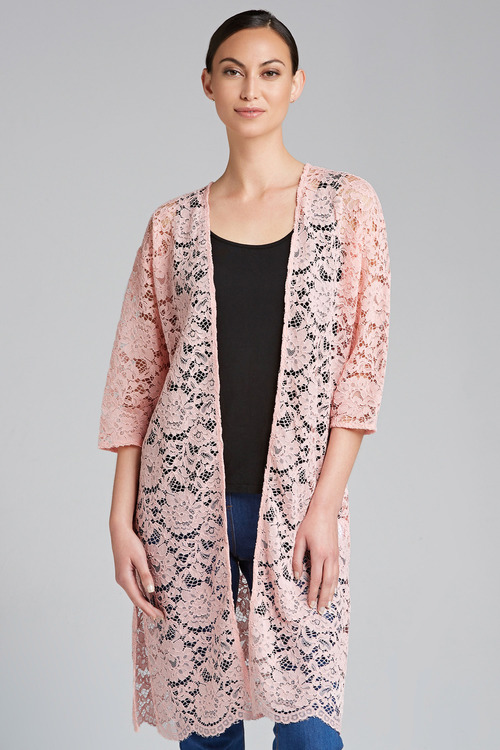 Capture Lace Kimono