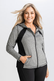 Isobar Active Plus Hooded Jacket