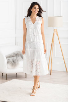 Grace Hill Broderie Dress