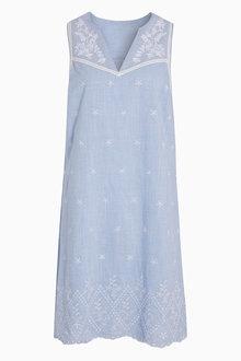 Next Embroidered Sleeveless Dress - 213520