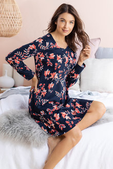 Mia Lucce Long Sleeve Nightie