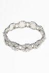Next Pearl Effect Ornate Expander Bracelet