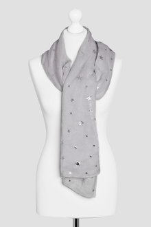 Next Star Foil Scarf - 213691