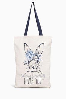 Next Bunny Shopper Bag
