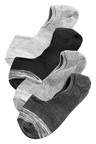 Next Space Dye Invisible Trainer Socks Four Pack