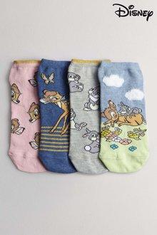 Next Bambi Trainer Socks Four Pack - 213732