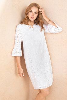 Emerge Broiderie Dress