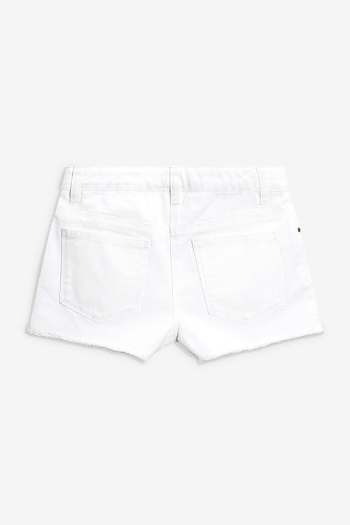 Next Frayed Hem Denim Shorts (5-16yrs)