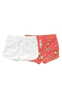 Next Bright Pink Floral Shorts Two Pack - 213851