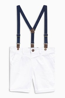 Next Chino Shorts With Braces - 213880