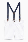 Next Chino Shorts With Braces