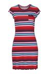 Urban Striped Tee Dress