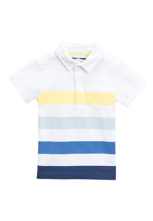 Next Short Sleeve Stripe Polo