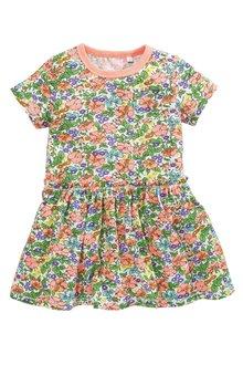 Next Multi Short Sleeve Frill Dress - 214019