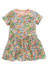 Next Multi Short Sleeve Frill Dress