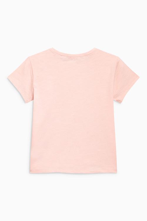 Next Pink Basic Tee