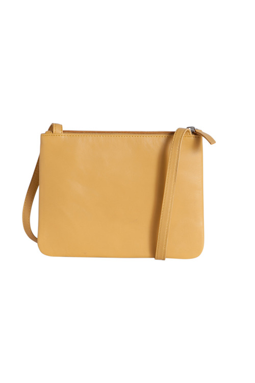 Minimalist Leather Cross Body Bag
