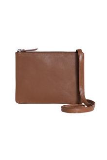 Minimalist Leather Cross Body Bag - 214053