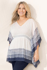 Plus Size - Sara V Neck Kaftan